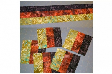 Strip Piecing Sample-