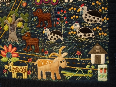 What are Folk Art Quilts?