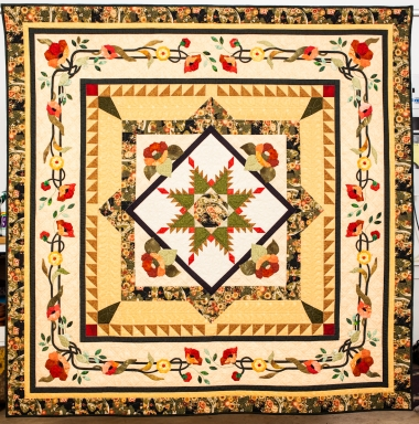 What is a Center Medallion Quilt?