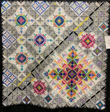 What is a Cathedral Windows Quilt?