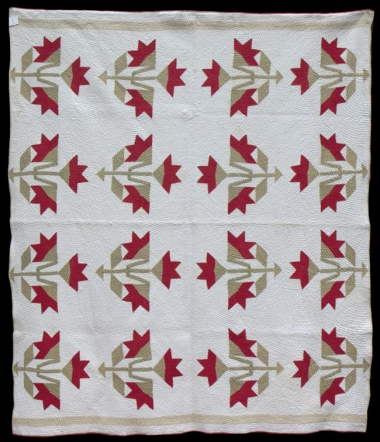Antique Caroline Lily Quilt