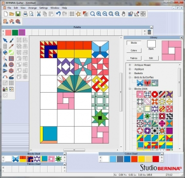 What is Computer Based Quilt Design?