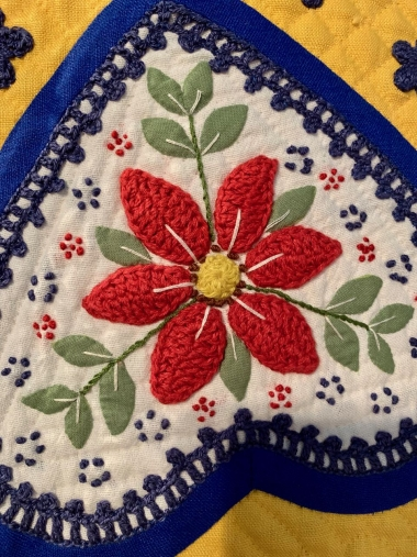 What is Quilt Embellishment?