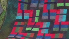 Ricky Tims' - Primitive Rail Fence Quilt