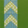 Modern Flying Geese Quilt Block - Tula Pink