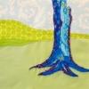 Free-Form Tree Quilt Block - Leni Levenson Wiener