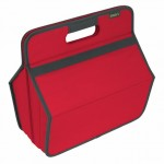 Meori Foldable Tool Hobby Box In Red (14 1/4 x 9 x 8 Inches)
