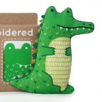 Kiriki Press Alligator  Embroidery Kit