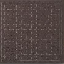 Lecien Sashiko Sampler Brown