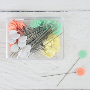 Flower Head Pins