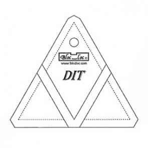 Bloc_Loc Diamond In A Triangle Ruler