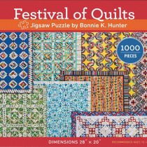 Festival of Quilts Puzzle by Bonnie K. Hunter