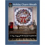 Holiday Charm Wreath Wall Quilt by Ricky Tims PRINTED PATTERN - From the Lizzy Albright Collection