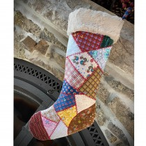 Lizzy Albright Holiday Stocking Kit - Attic Window