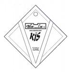 Bloc Loc Kite In A Square Ruler Set