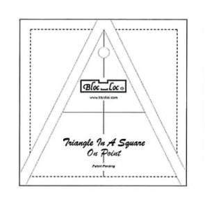 Bloc_Loc 3 Triangle in a Square Ruler