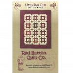 Little Red One Mini Quilt Pattern by Red Button Quilts