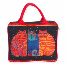 Feline Friends Cosmetic Travel Tote
