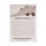 3/8 Inch (1 cm) Fusible Hexagons - 500 pack By Apliquick