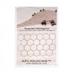 5/8 Inch (1.5 cm) Fusible Hexagons - 500 pack By Apliquick