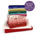 My Flower Garden Quilt Kit - NO PATTERN