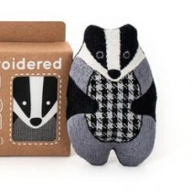 Kiriki Press Badger Embroidery Kit
