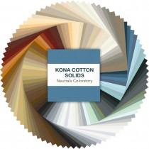 Multicolor Kona Cotton Charm Pack