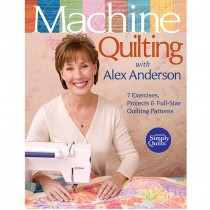 Machine Quilting with Alex Anderson Book