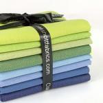 Derwent 8 Piece Fat Eighth Bundle By Oakshott Fabrics