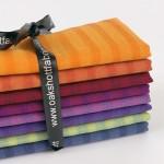 Longshott Stripe 8 Piece Fat Eighth Bundle By Oakshott Fabrics