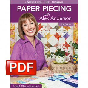Paper Piecing with Alex Anderson Book