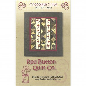 Chocolate Chips Mini Quilt Pattern