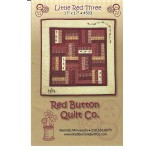 Little Red Three Mini Quilt Pattern by Red Button Quilts