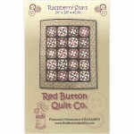 Raspberry Stars Mini Quilt Pattern by Red Button Quilts
