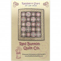 Raspberry Stars Mini Quilt Pattern