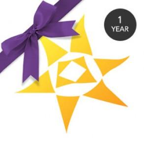1 Year Gift Star Membership