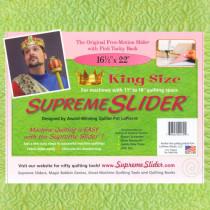 Supreme Slider Sheet - King Size 16.5 x 22 Inches