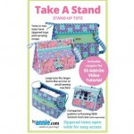 Take A Stand Stand-Up Tote Pattern from by Annie