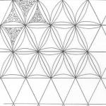 Diamonds/ Triangles Background Stencils from Cindy Needham