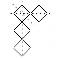 Ultimate Border Stencil - Repetitive Squares