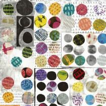 Wabi Sabi Polka Dot by Marcia Derse