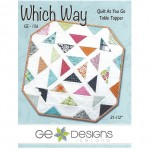 Which Way Quilt As You Go Table Topper Pattern