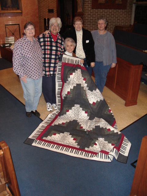 Quilt in a Day Log Cabin with Music