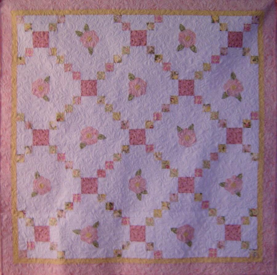 Britney's baby quilt