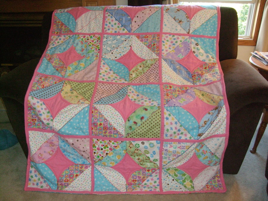 Lily's all flannel quilt