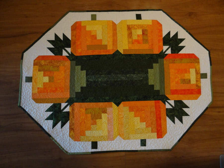 Pumpkin Table Runners