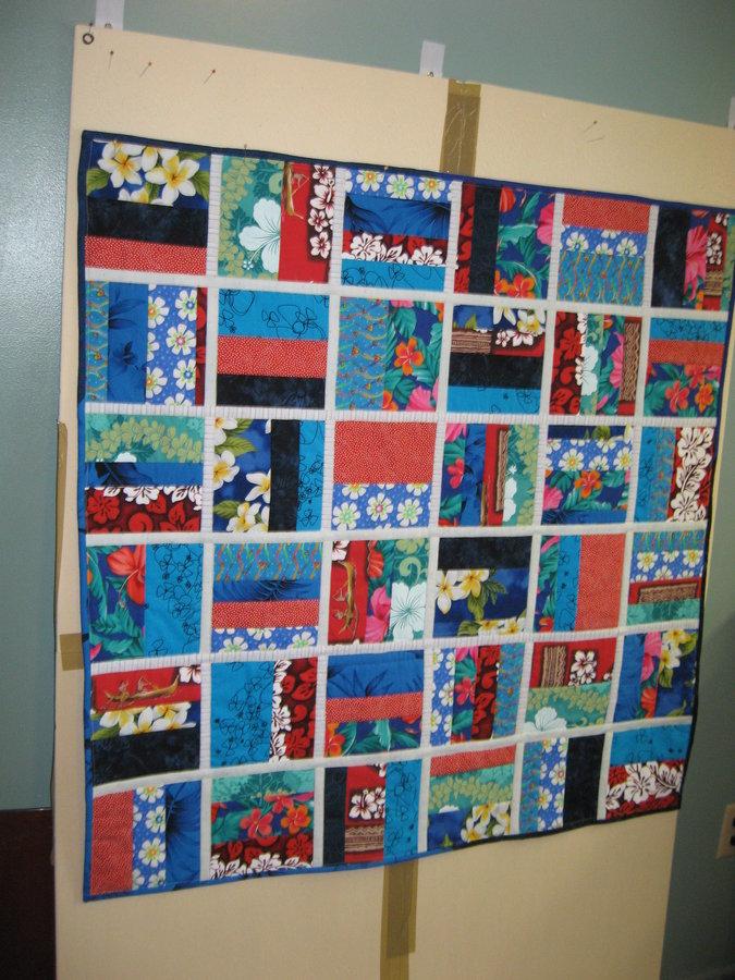 Reversible Child's quilt