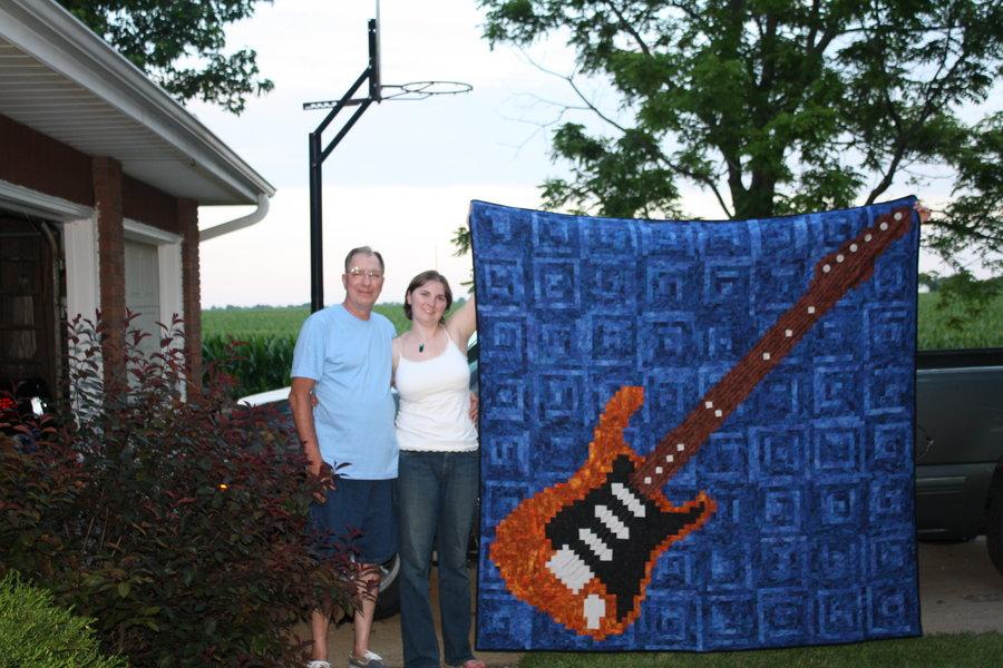 Dad's Rhythm in Blue