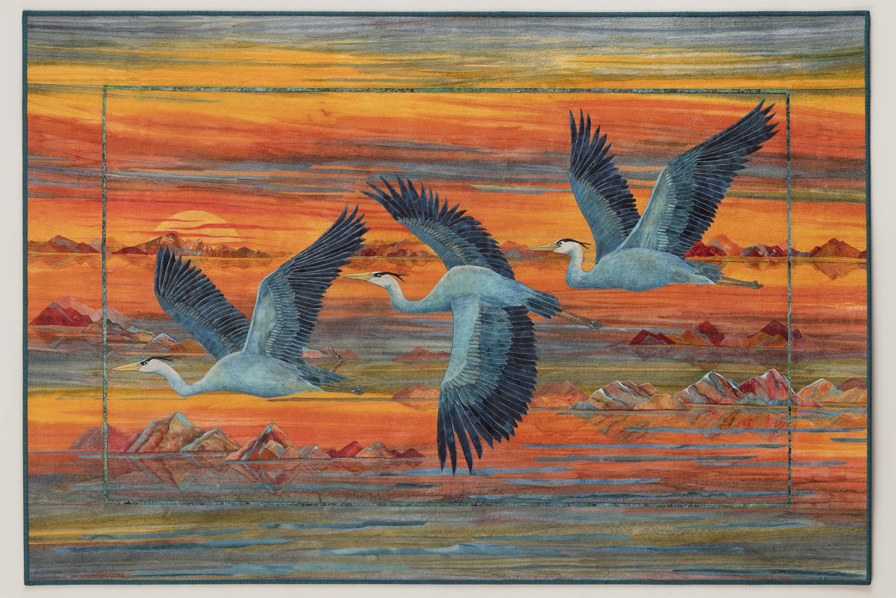 Majestic Flight by Joanne Baeth (Photo from Joanne Baeth)