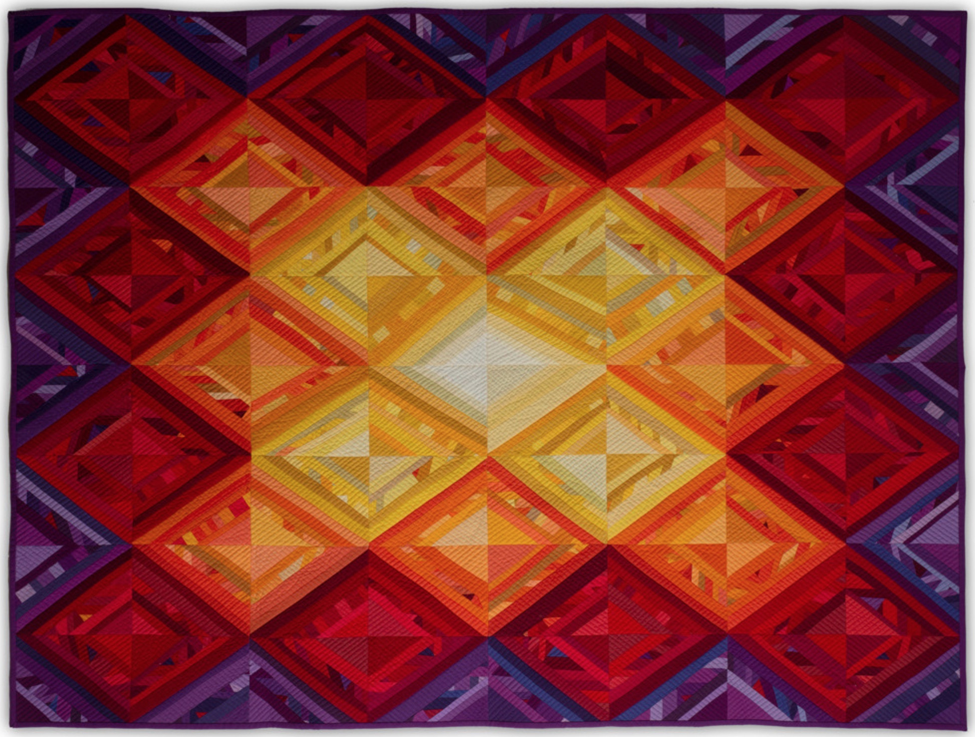 Coming Into Light by Marge Tucker (Photo from Mancuso 2021 Spring Quilt Festival website)